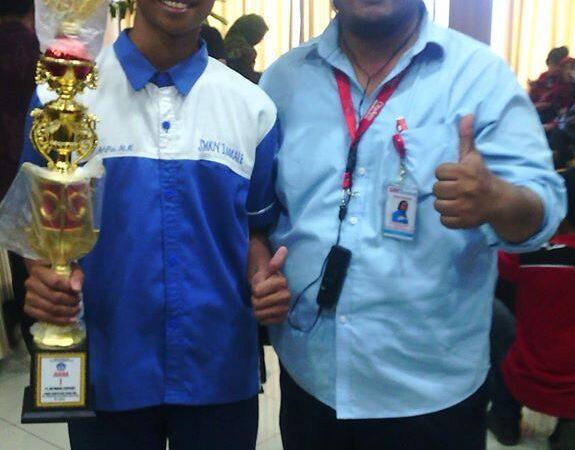 Juara 1 Lomba IT Network System Administration Tingkat Provinsi Sulawesi Selatan Tahun 2015